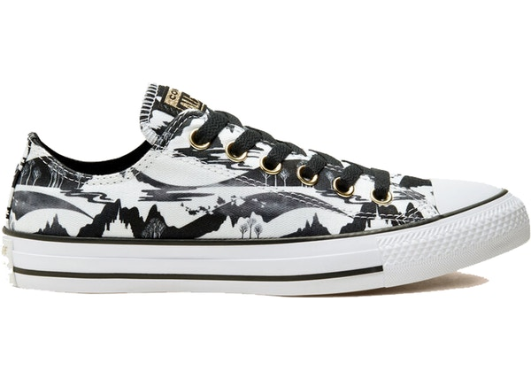 Converse Chuck Taylor All-Star Low Frozen 2 White Black