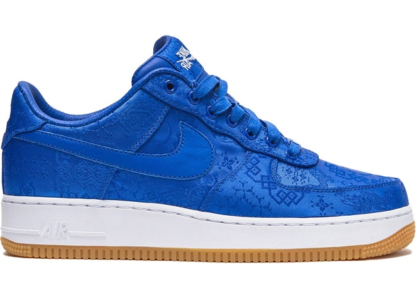 Air Force 1 Low Clot Blue Silk