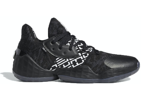 adidas Harden Vol. 4 Black White