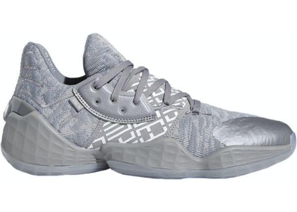 adidas Harden Vol. 4 Grey Three Cloud White