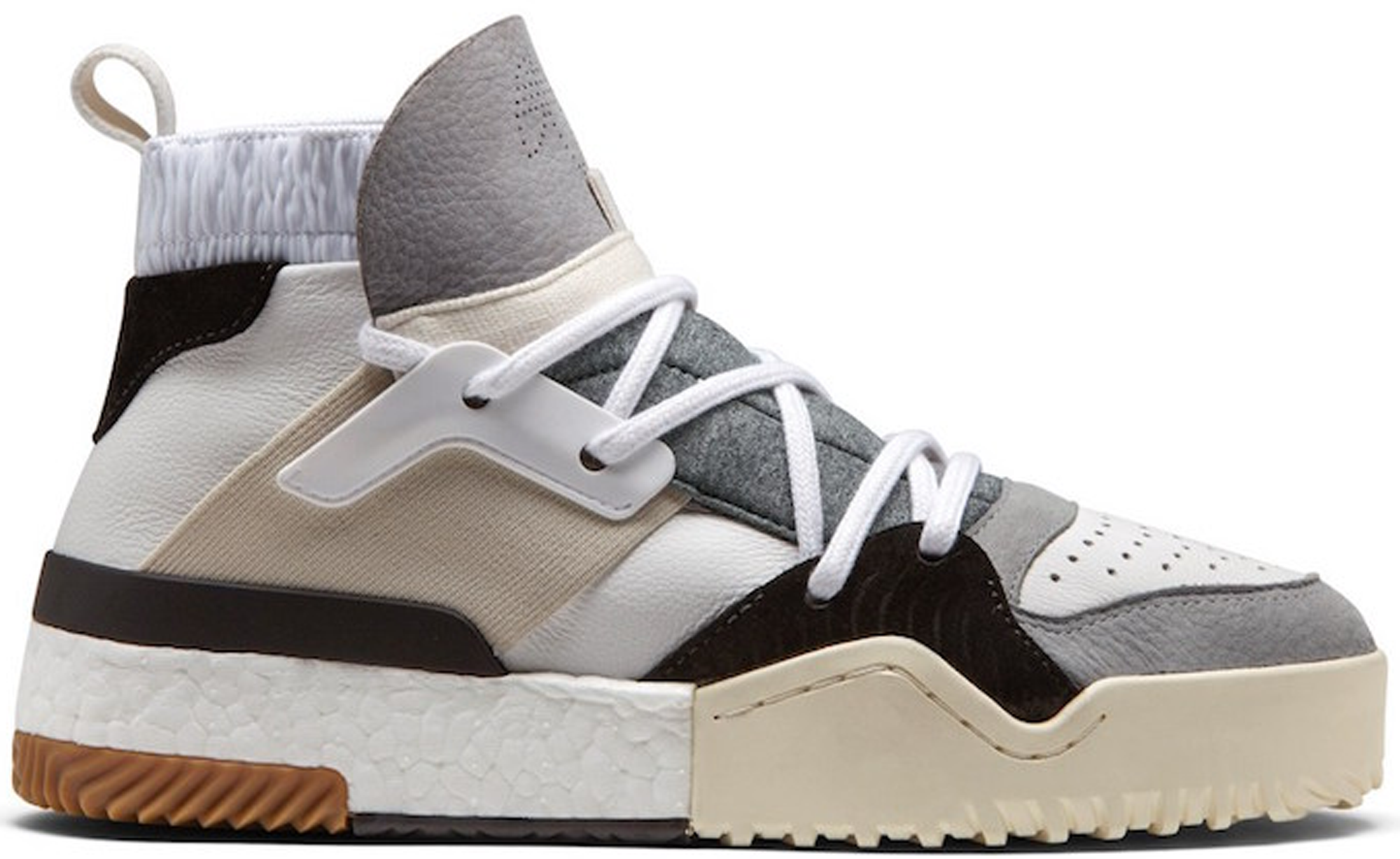 save off ba024 52188 HypeAnalyzer · adidas AW BBall Alexander Wang Grey Cream