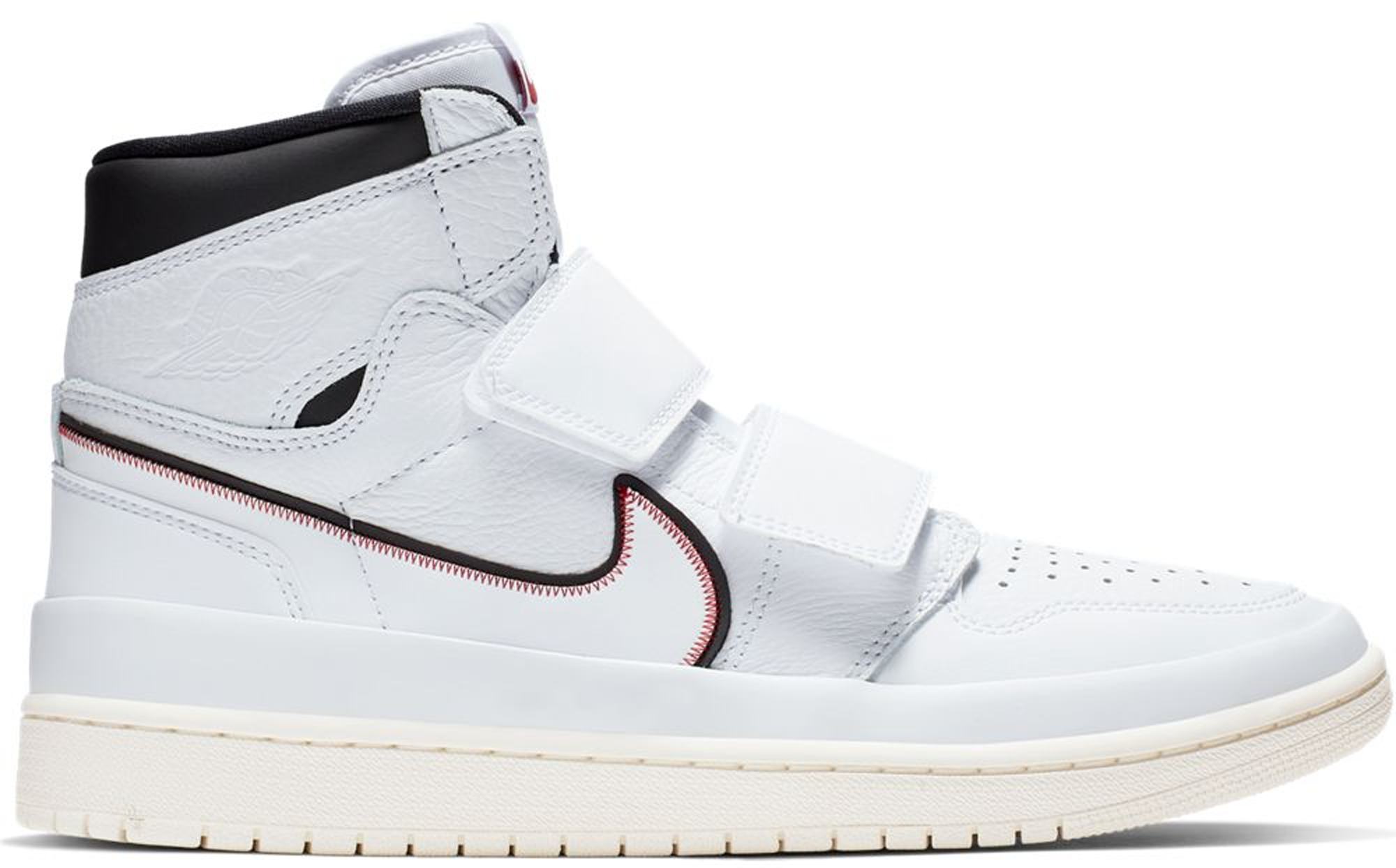 meet eeb97 a8b9d HypeAnalyzer · Jordan 1 Retro High Double Strap White Black Sail