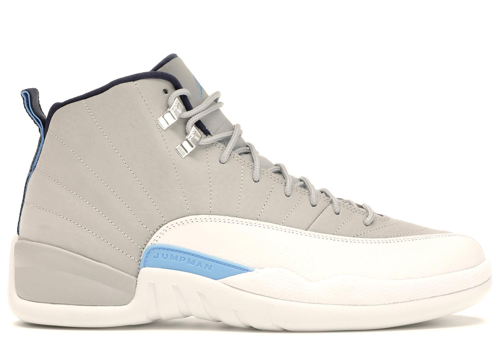 421ac301167 HypeAnalyzer · Jordan 12 Retro Grey University Blue