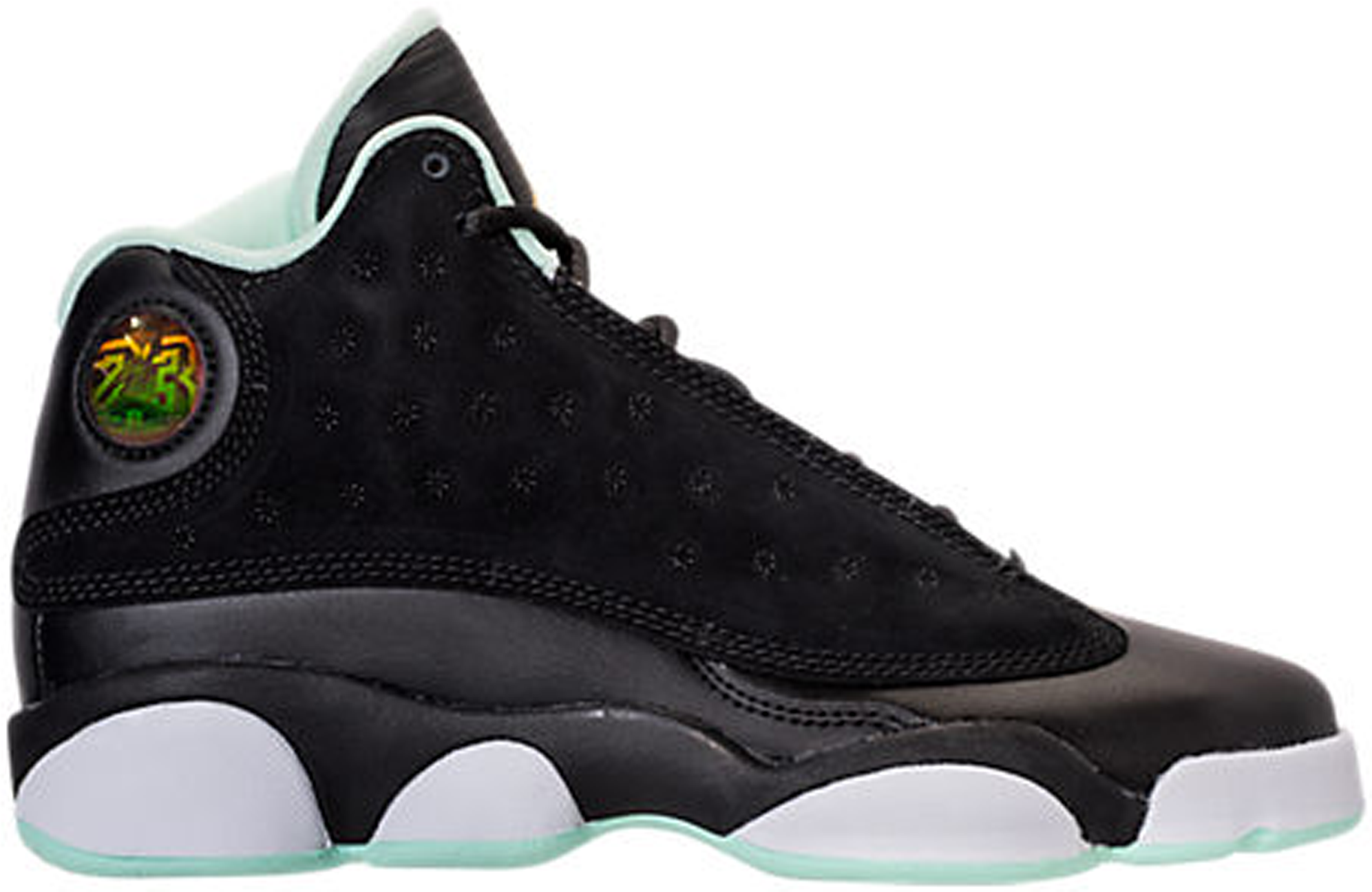 big sale 8a7a7 6d3dc HypeAnalyzer · Jordan 13 Retro Black Mint Foam (GS)