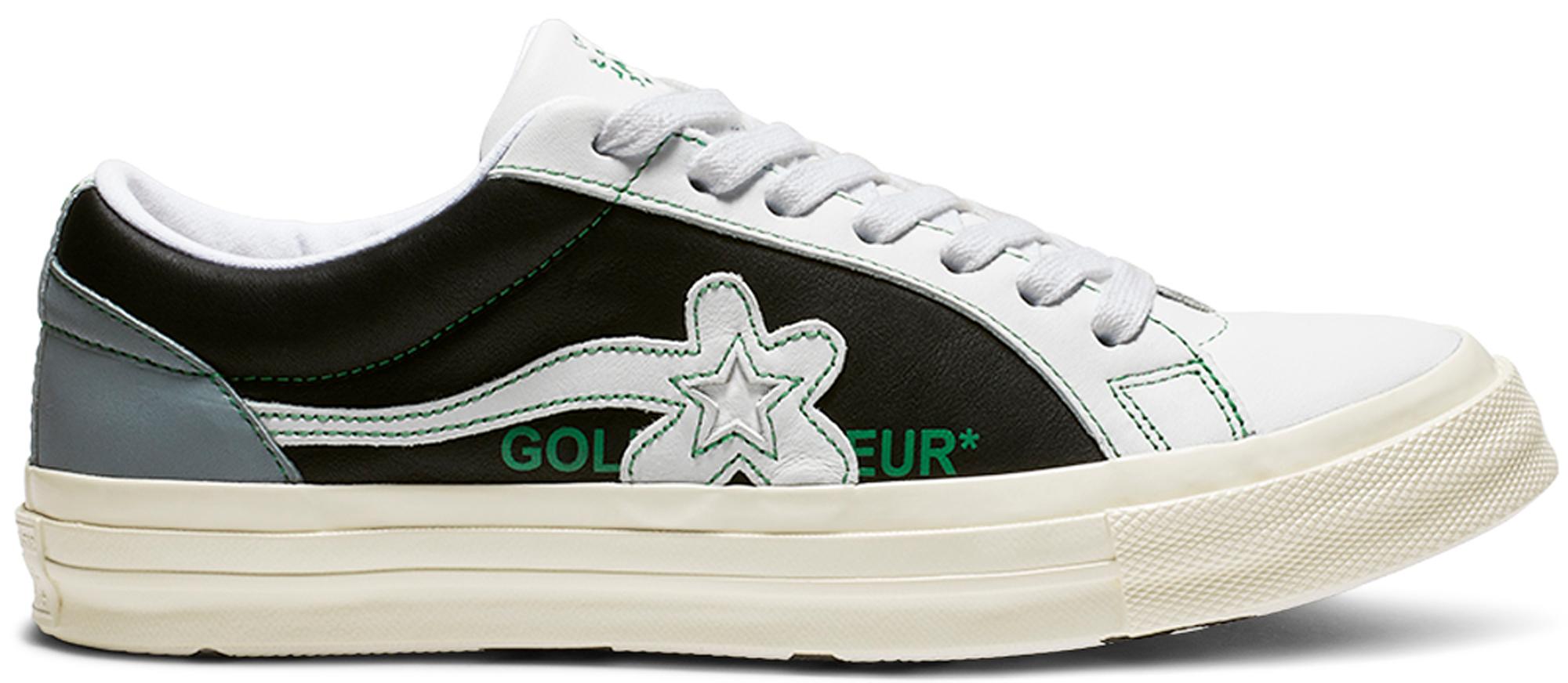 8a396ce7d710 HypeAnalyzer · Converse One Star Ox Golf Le Fleur Industrial Pack Black