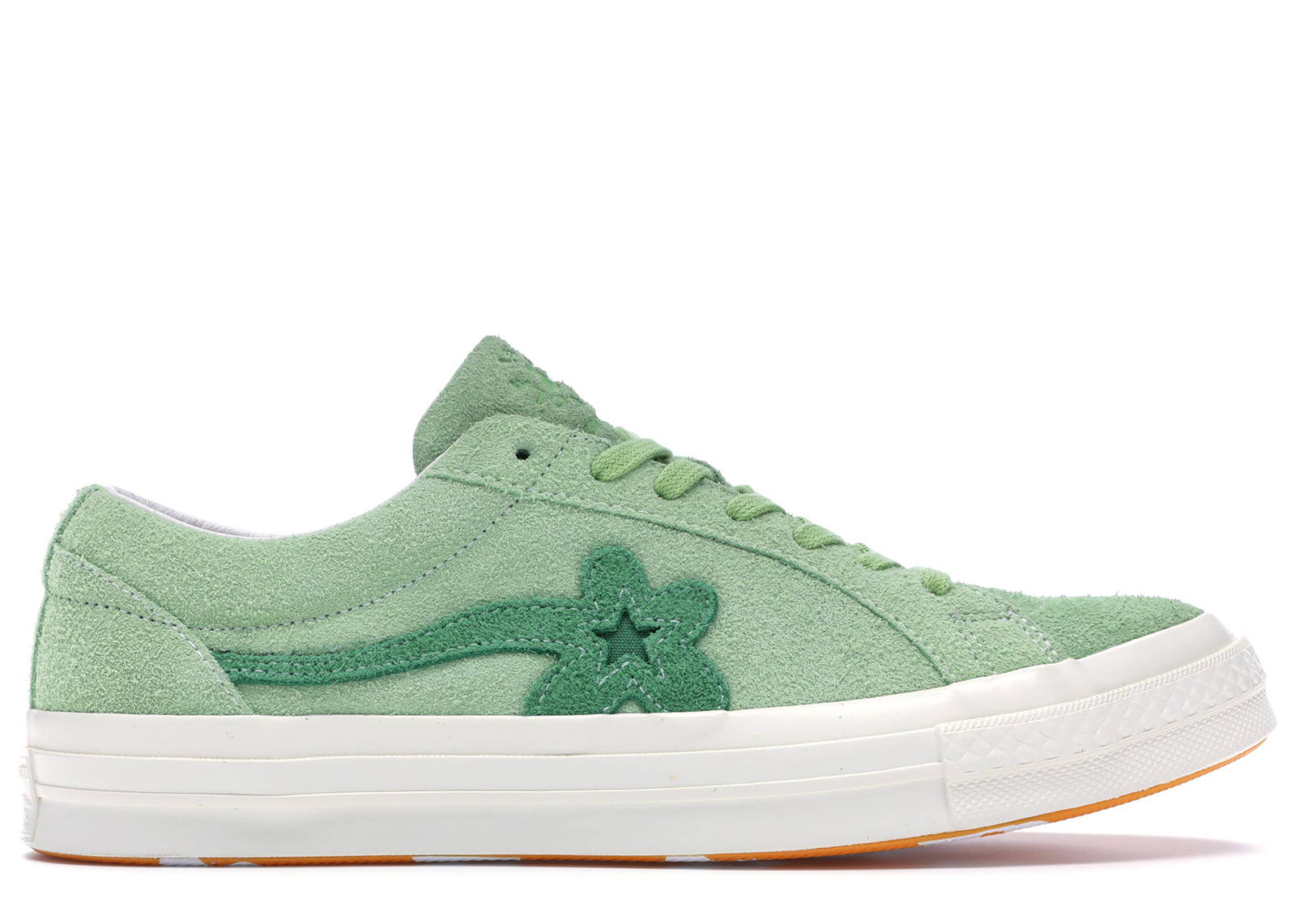 02c15aa2a935 HypeAnalyzer · Converse One Star Ox Tyler the Creator Golf Le Fleur Jade  Lime