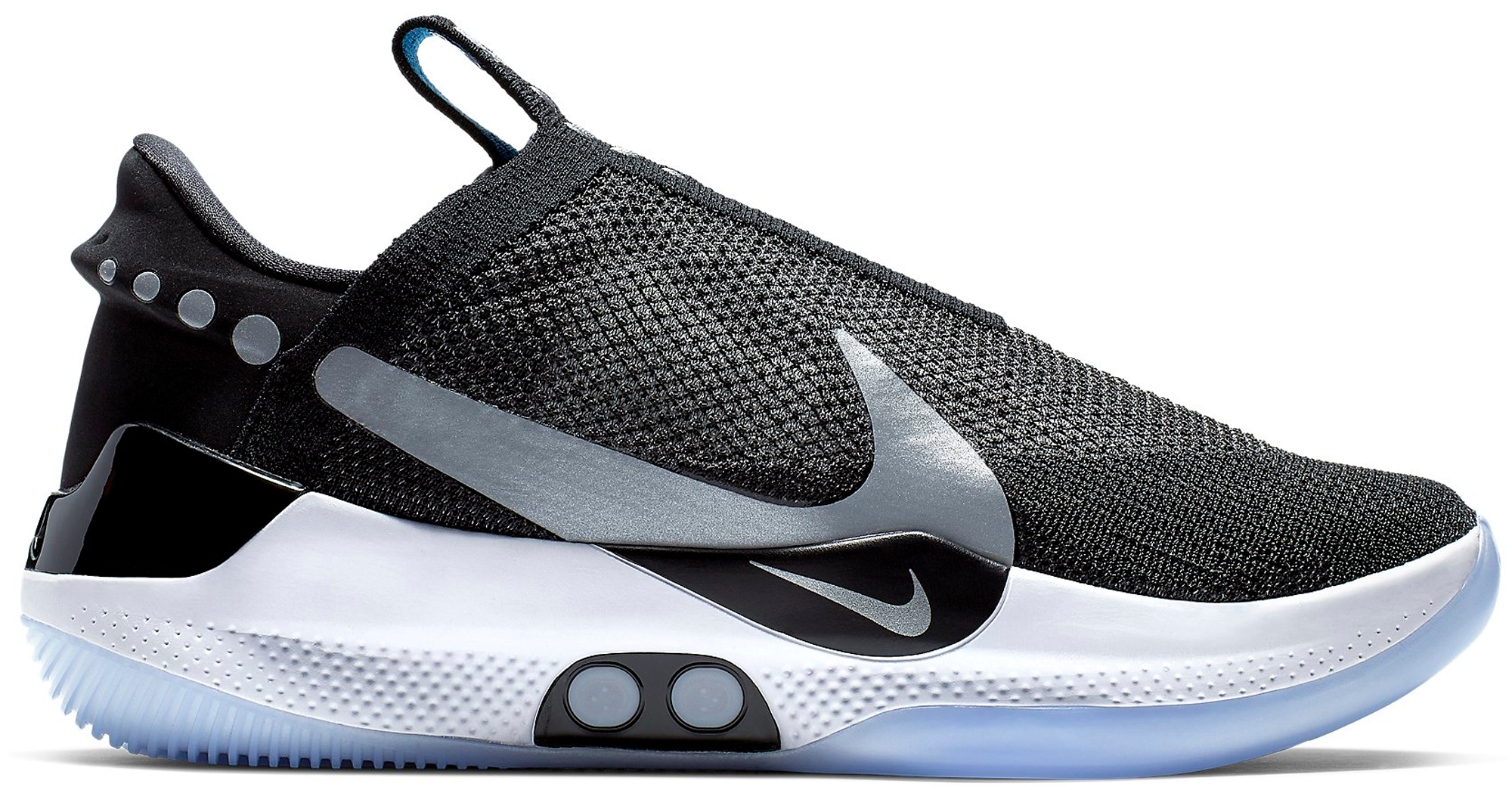 325a6e95d3 ... cheapest hypeanalyzer nike adapt bb black pure platinum us charger  c71ce 2d659
