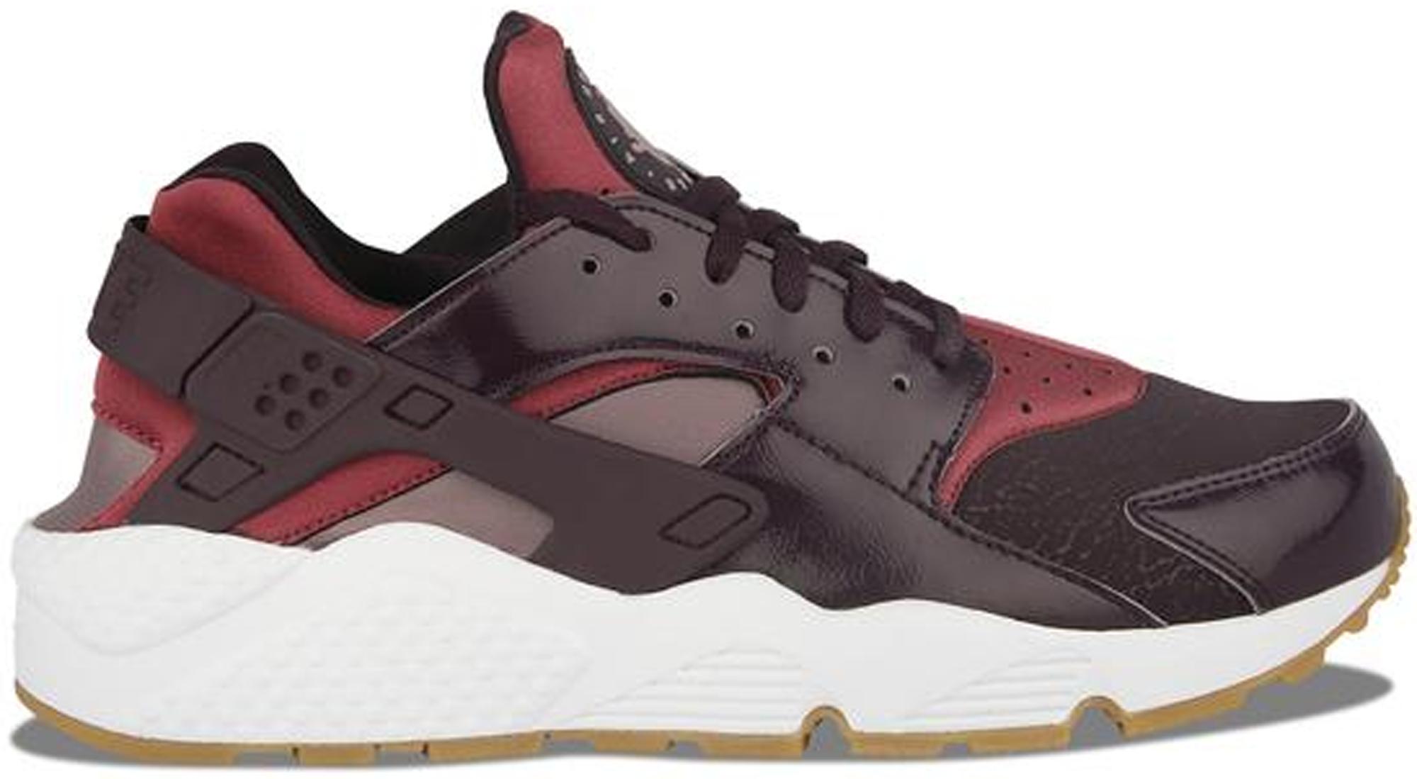 8154506416b Nike Huarache Cargo Khaki White Liza Sneakers