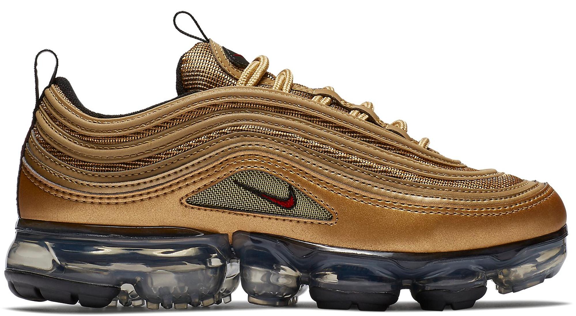 sports shoes 3aa92 24e42 HypeAnalyzer · Air VaporMax 97 Metallic Gold (GS)