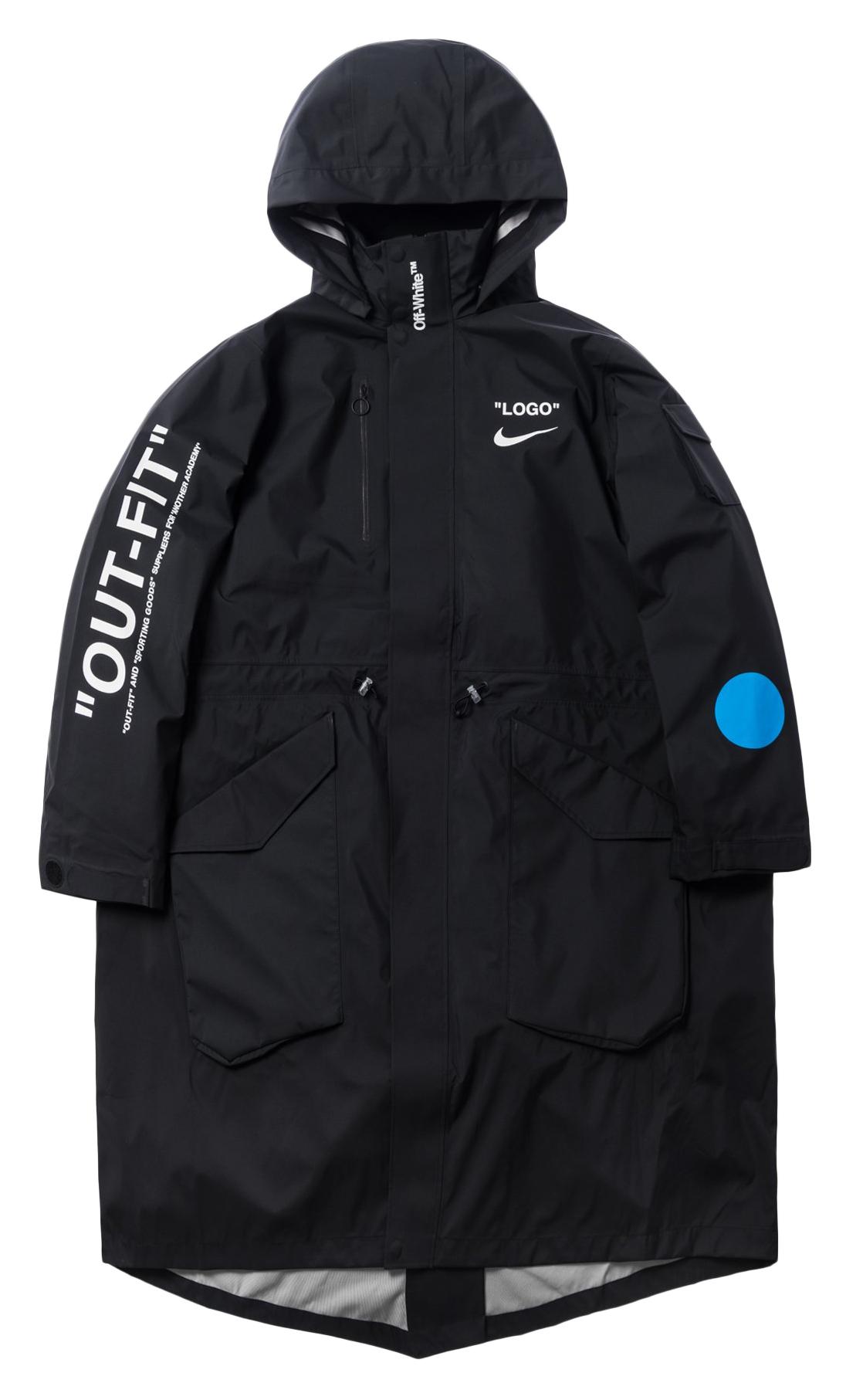 cbe468a68835b HypeAnalyzer · Nikelab x OFF-WHITE Mercurial NRG X Jacket Jacket Black