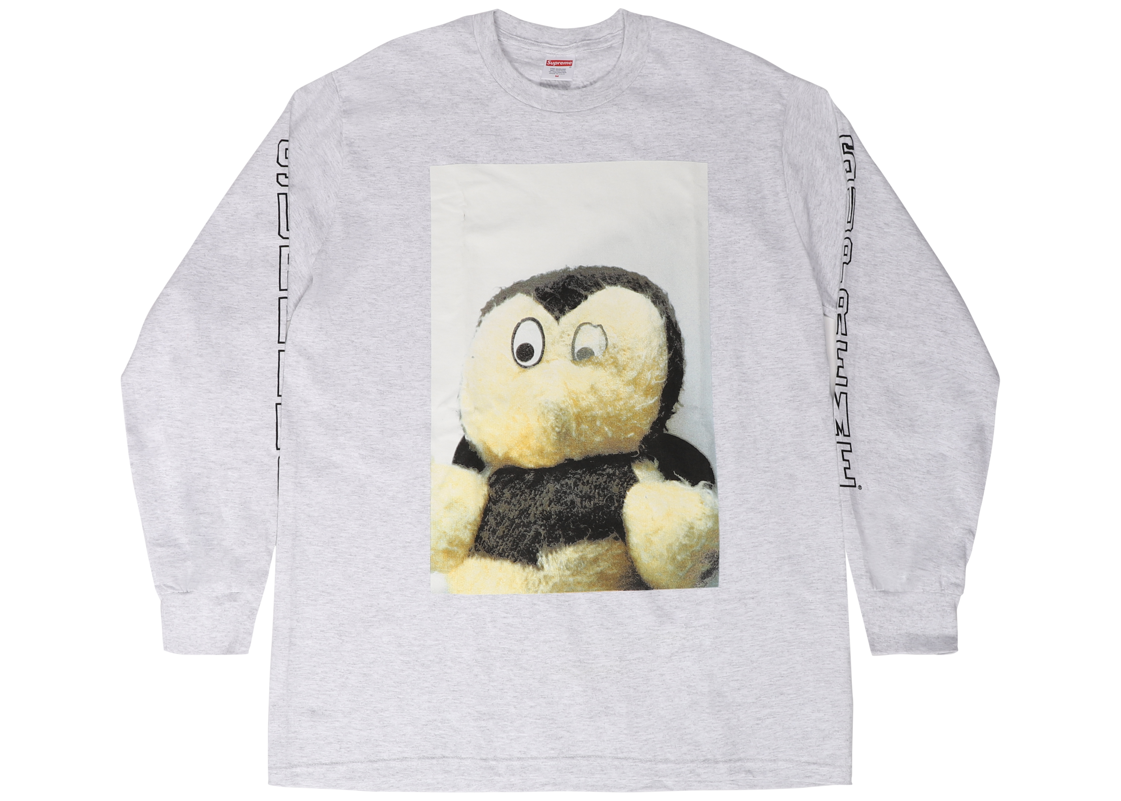 338ed4cc HypeAnalyzer · Supreme Mike Kelley AhhYouth! L/S Tee Ash Grey