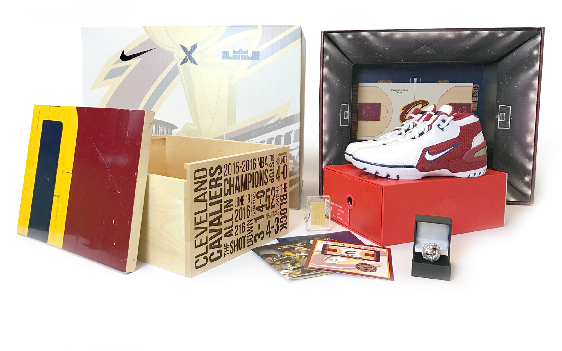 Nike Cavs Court SPO - LeBron 1 Air Zoom