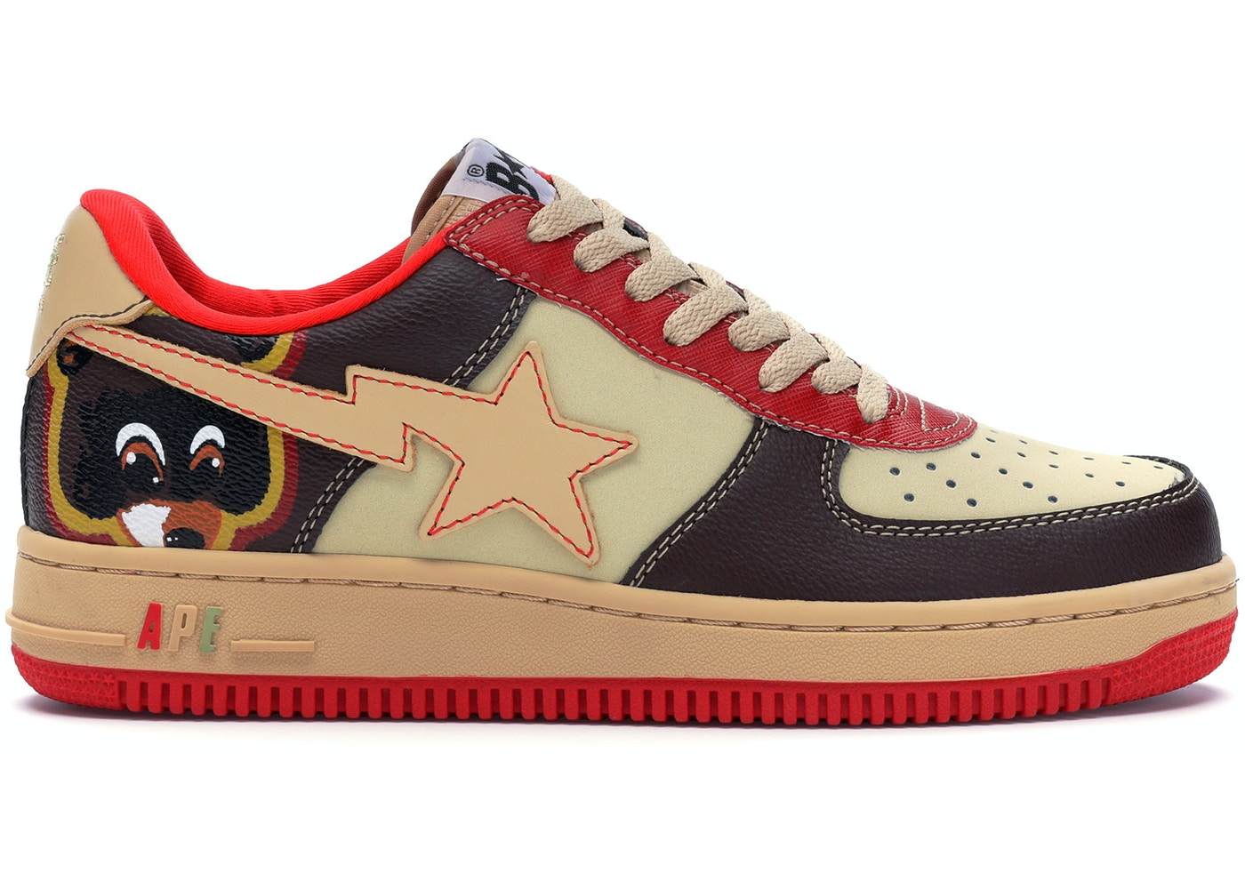 A Bathing Ape Bapesta Kanye West College Dropout - 0607FS-001
