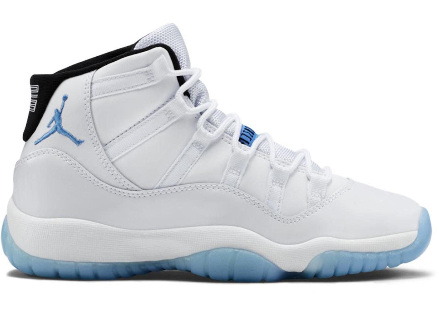 3c94be7525b Jordan 11 Retro Legend Blue 2014 (GS) - 378038-117