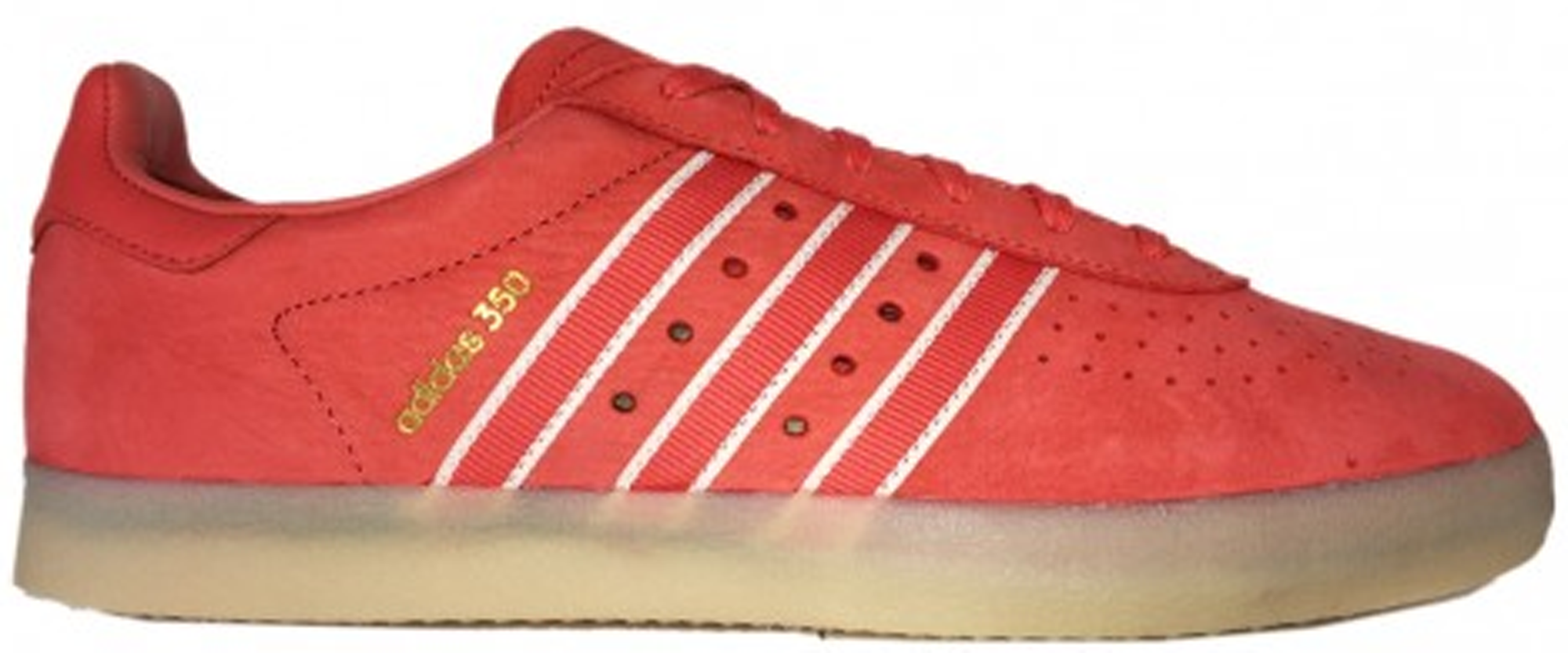 adidas 350 Oyster Holdings Trace Scarlet