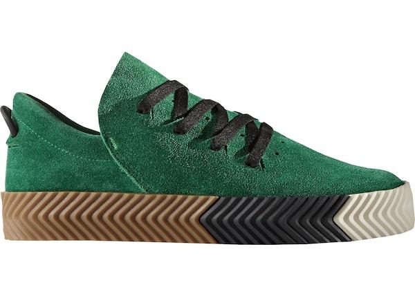 1e4e683ca572 adidas AW Skate Alexander Wang Green - BY8907