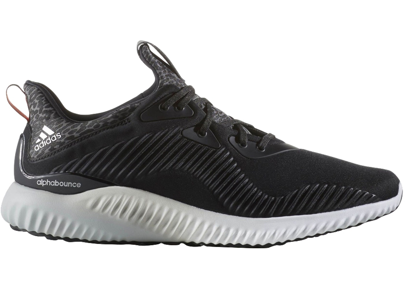 adidas AlphaBounce Core Black - B42744 3e5655a10