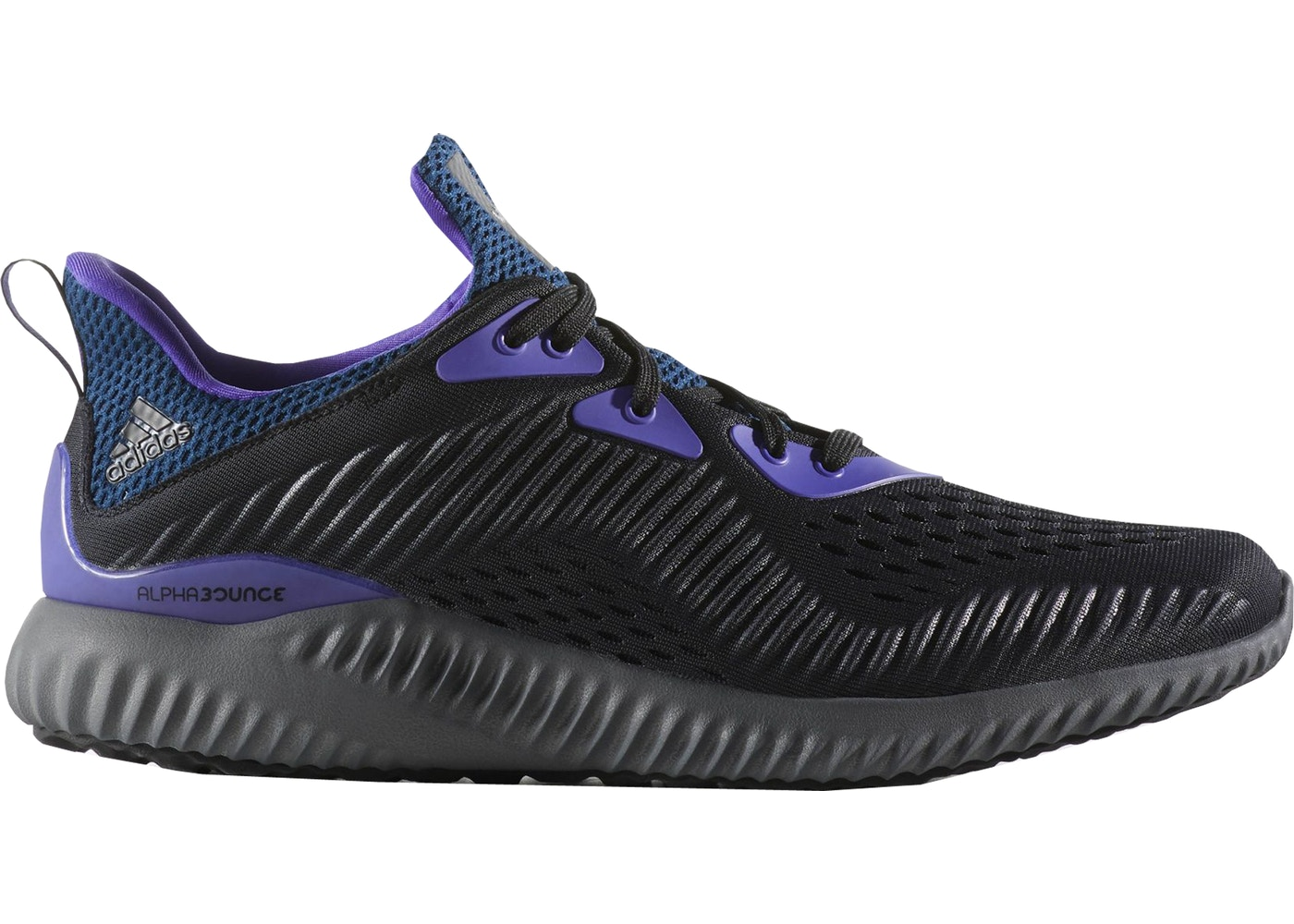 online store 04bb1 cc219 adidas Alphabounce 1 Kolor Black