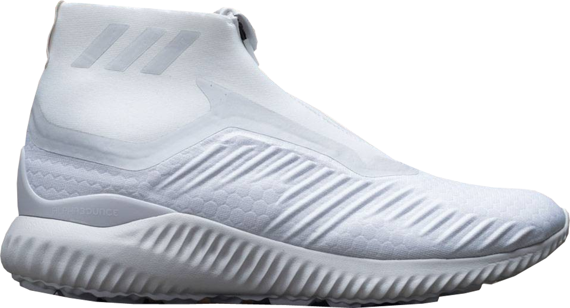 adidas Alphabounce Zip Triple White