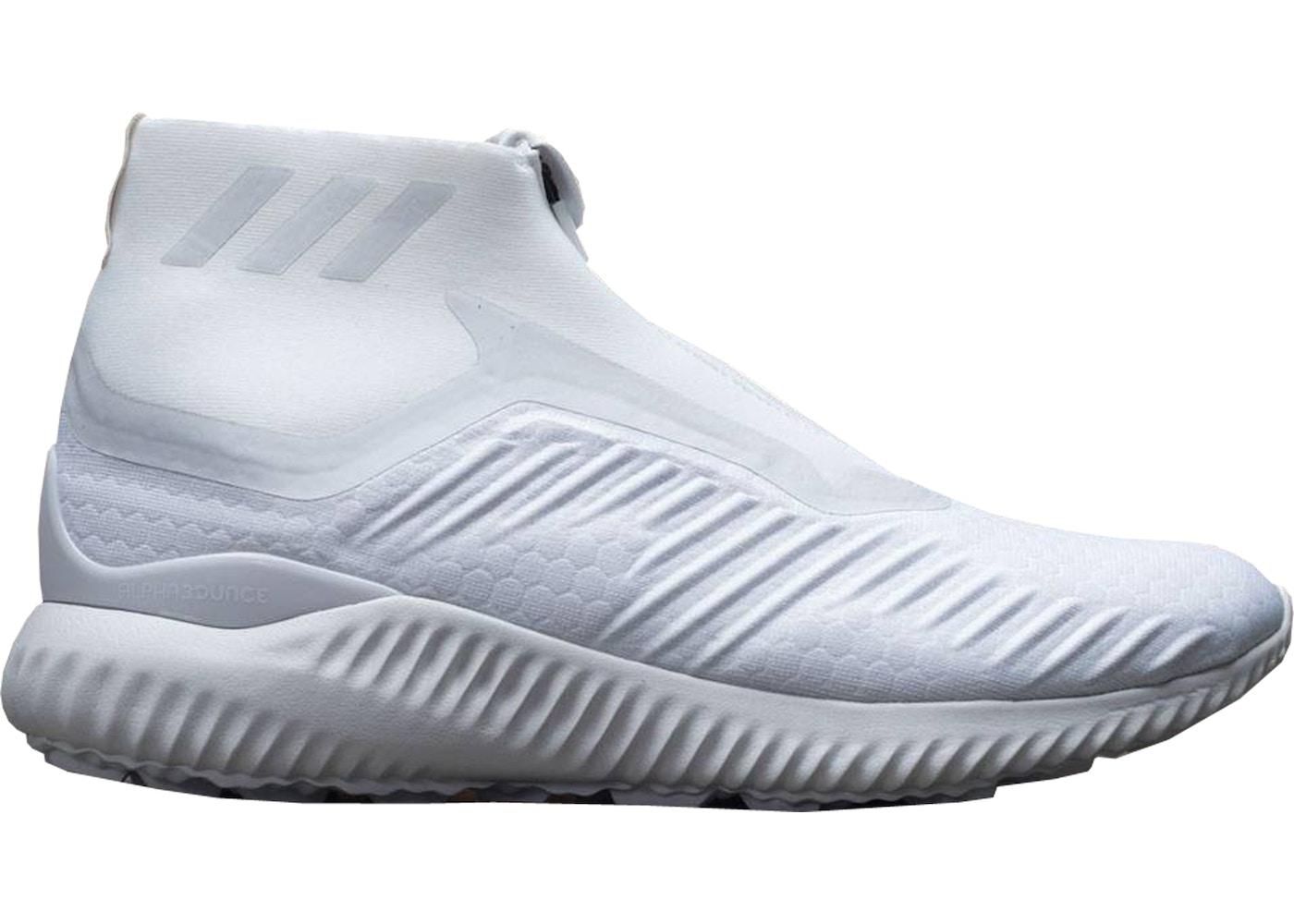meilleur pas cher 5620f 76eca adidas Alphabounce Zip Triple White