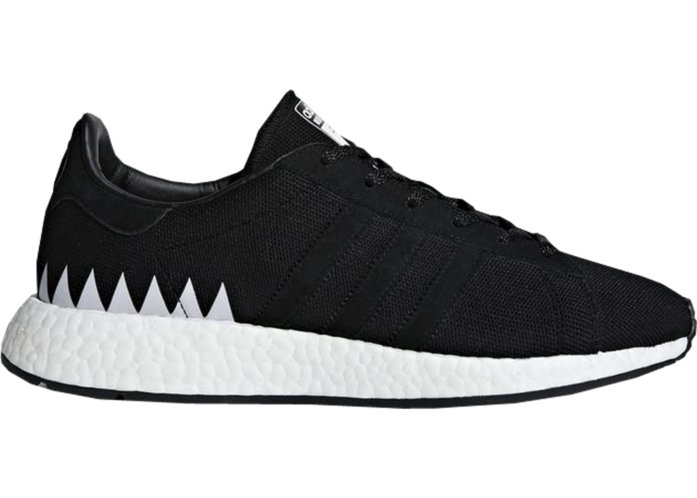 new product 695b4 f8e6c adidas Chop Shop Neighborhood Core Black