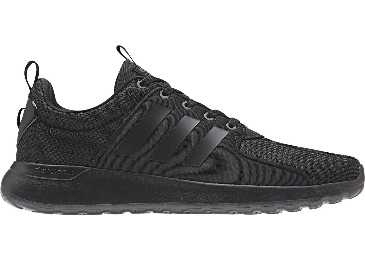 adidas Cloudfoam Lite Racer Triple Black - BB9819