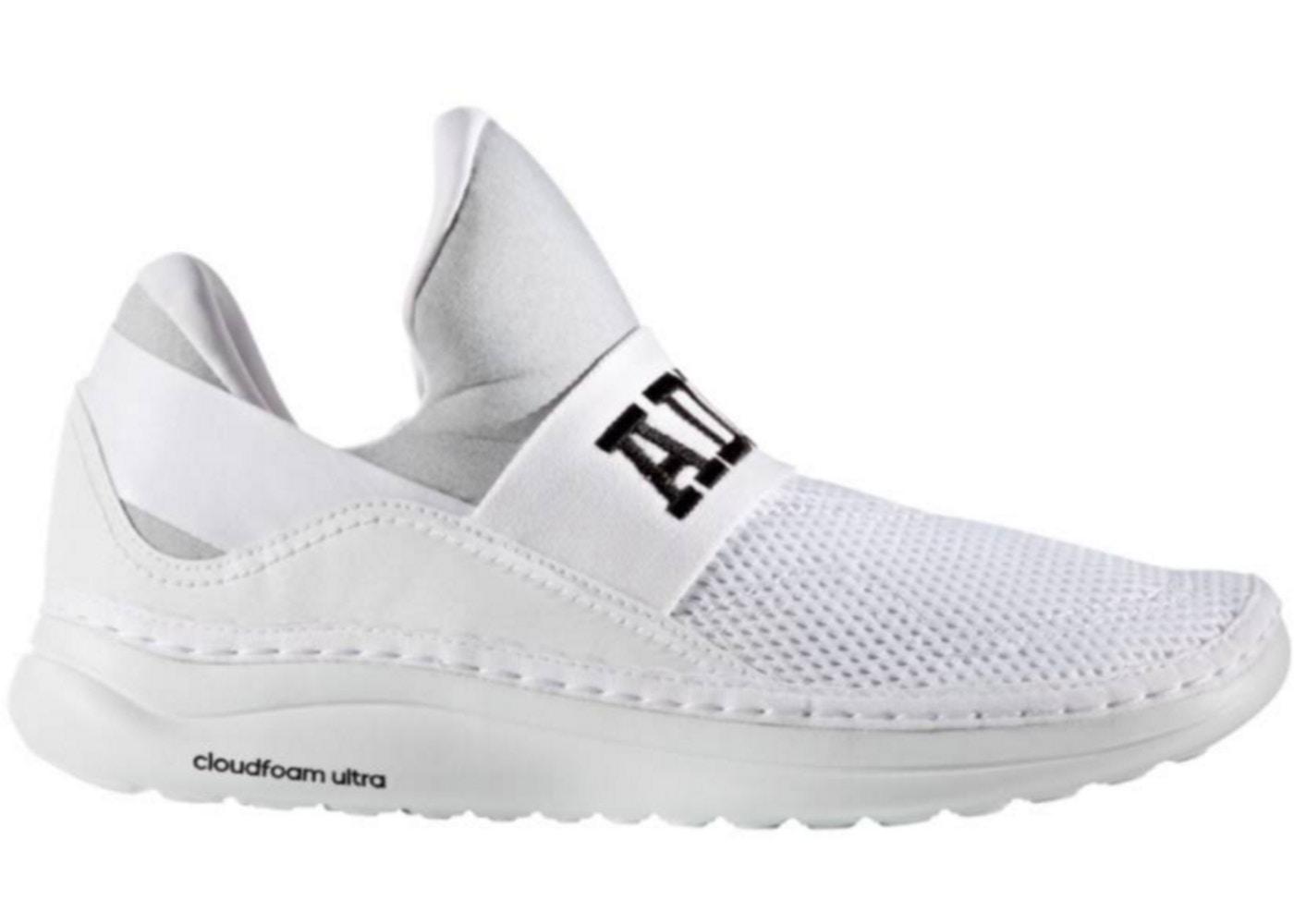 Dificil incompleto Juntar  adidas Cloudfoam Ultra Zen White White Scarlet - AQ5859