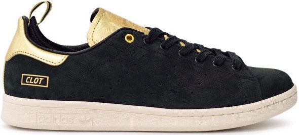 adidas Stan Smith CLOT (Black/Gold)