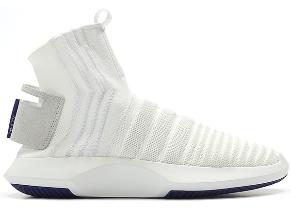 new concept 9b913 9fad0 adidas Crazy 1 Adv Sock Footwear White Real Purple