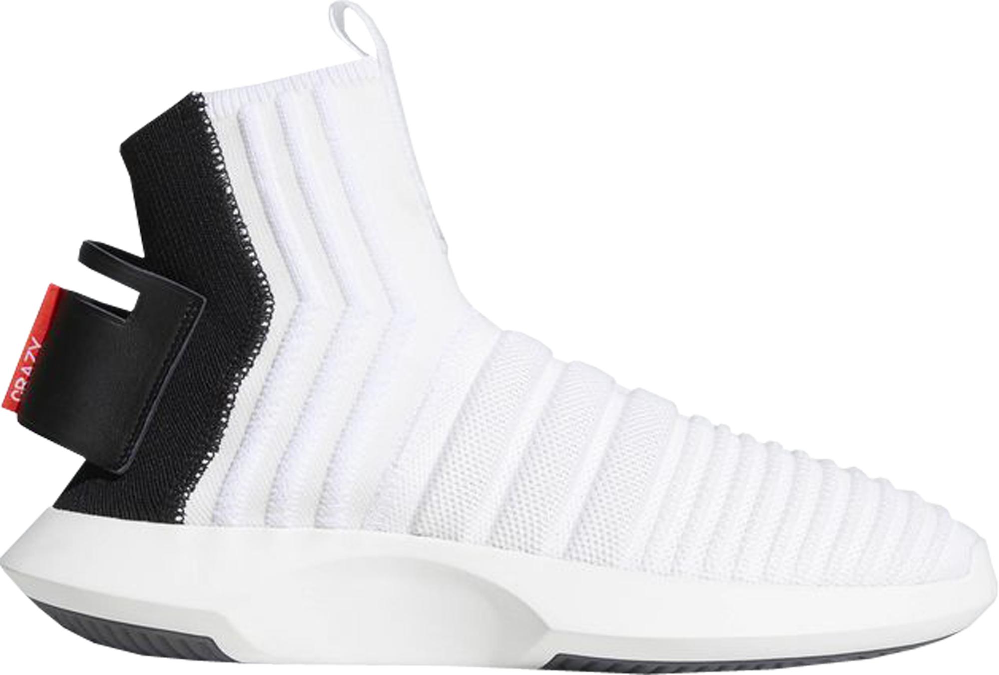 Adidas folle avanzata calzino bianco rosso cq0985 1