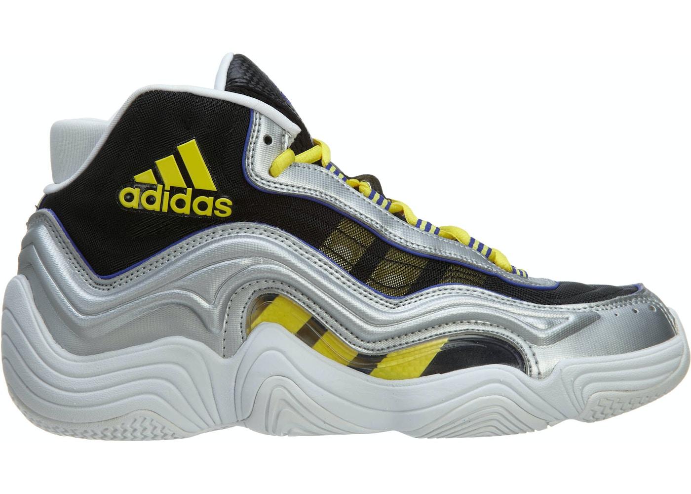 74e48103 adidas Crazy 2 Basketball Shoes Silver Metallic/Light Yellow/Night ...
