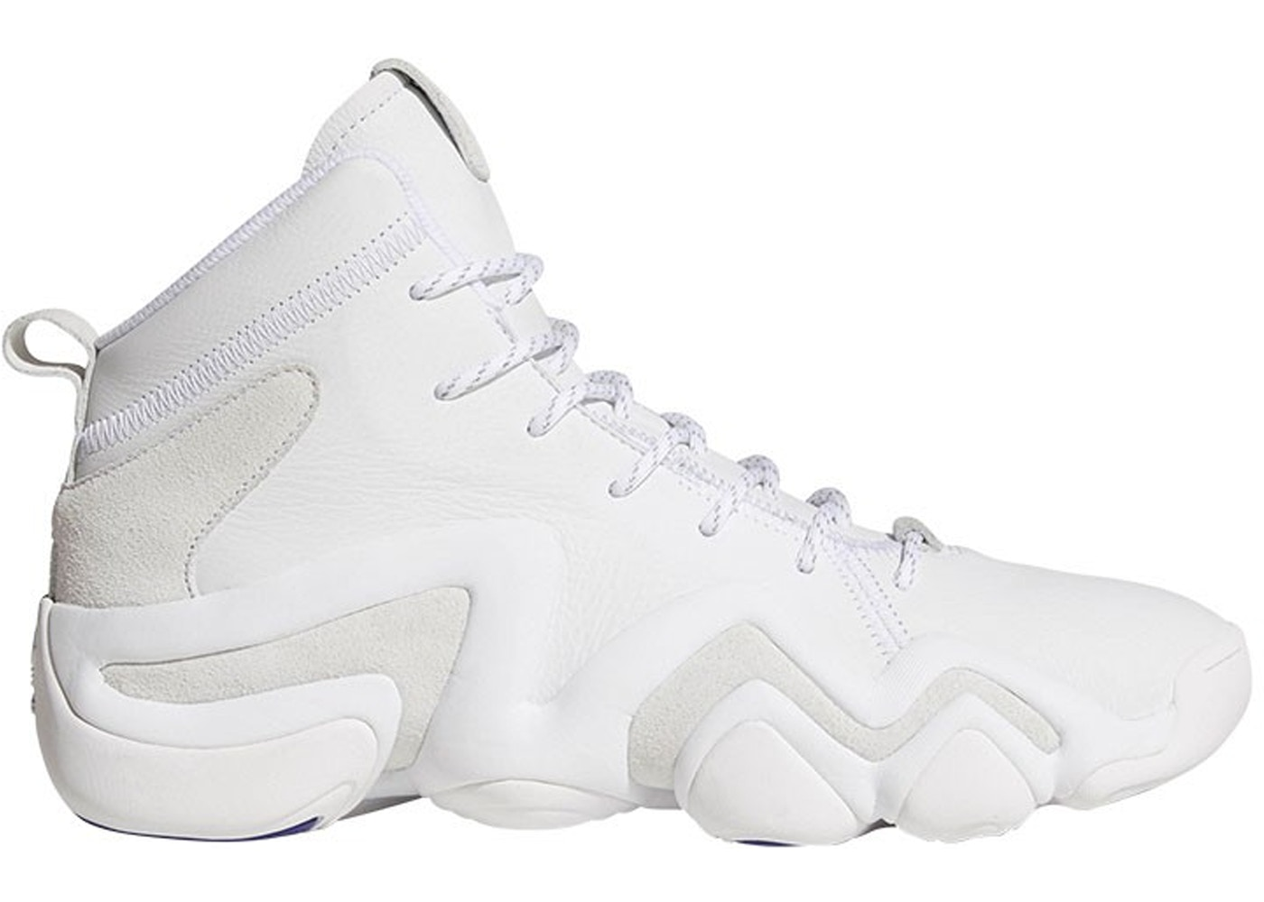 huge selection of 38800 23bef adidas Crazy 8 Adv Running White