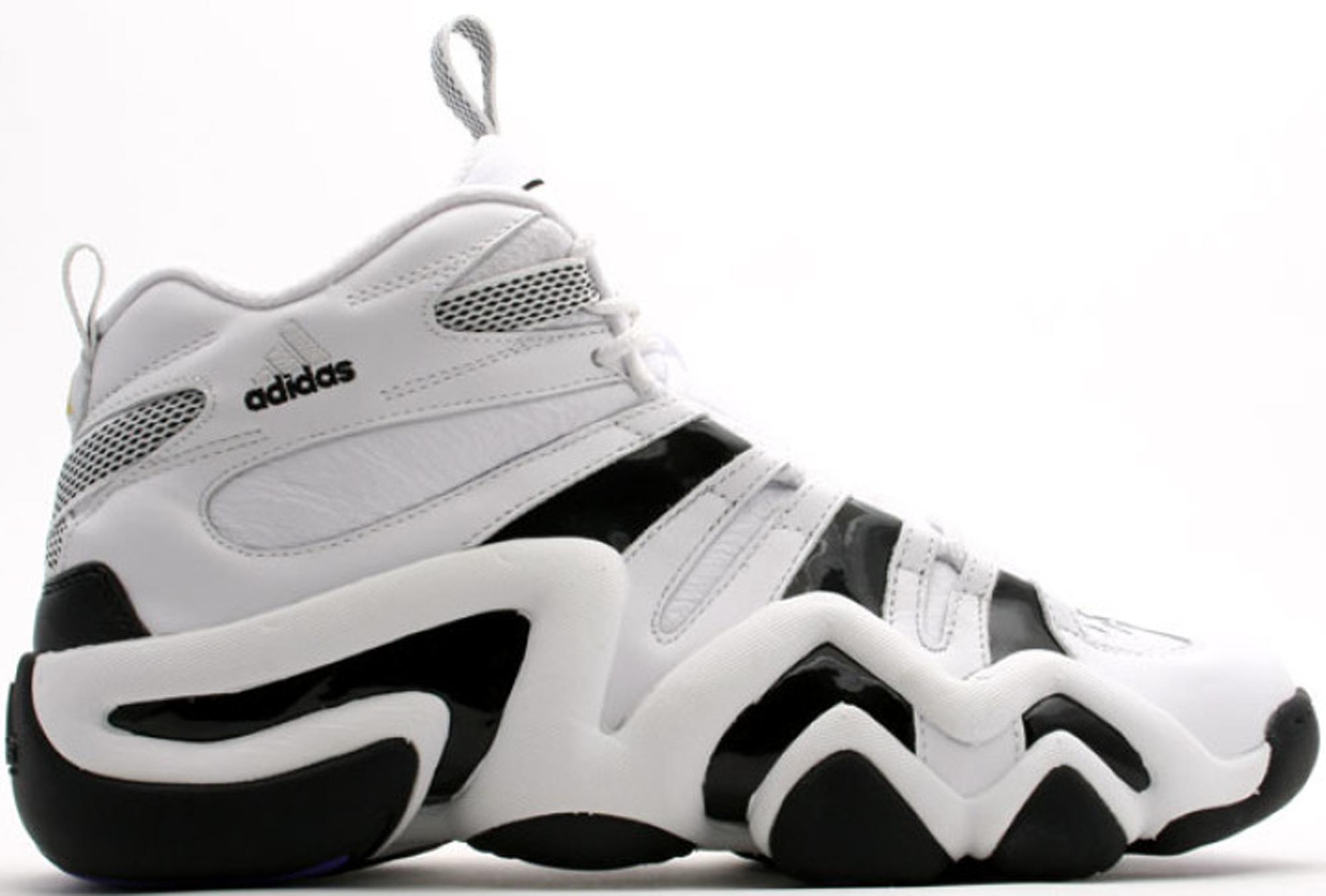 adidas 8. adidas crazy 8 white black e