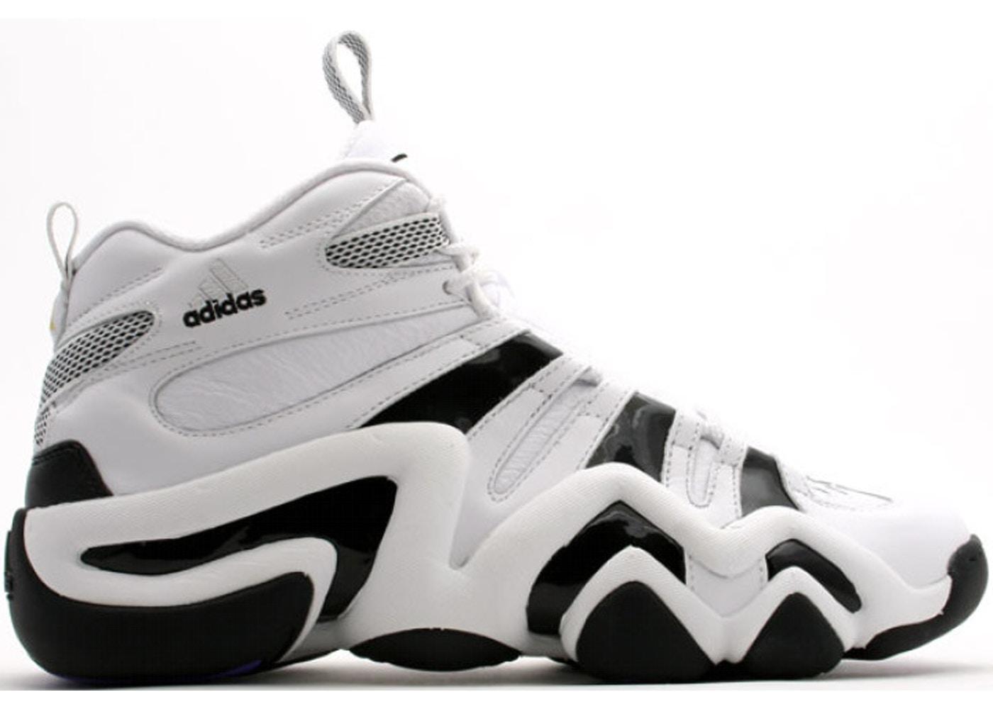 da9bf16325 adidas Crazy 8 White Black
