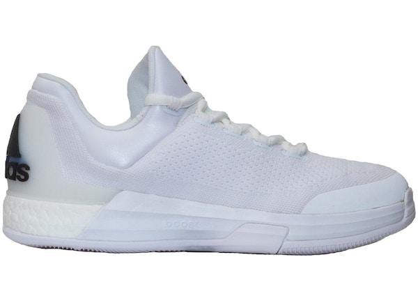 brand new 8eba0 08fec adidas Crazylight Boost Triple White James Harden