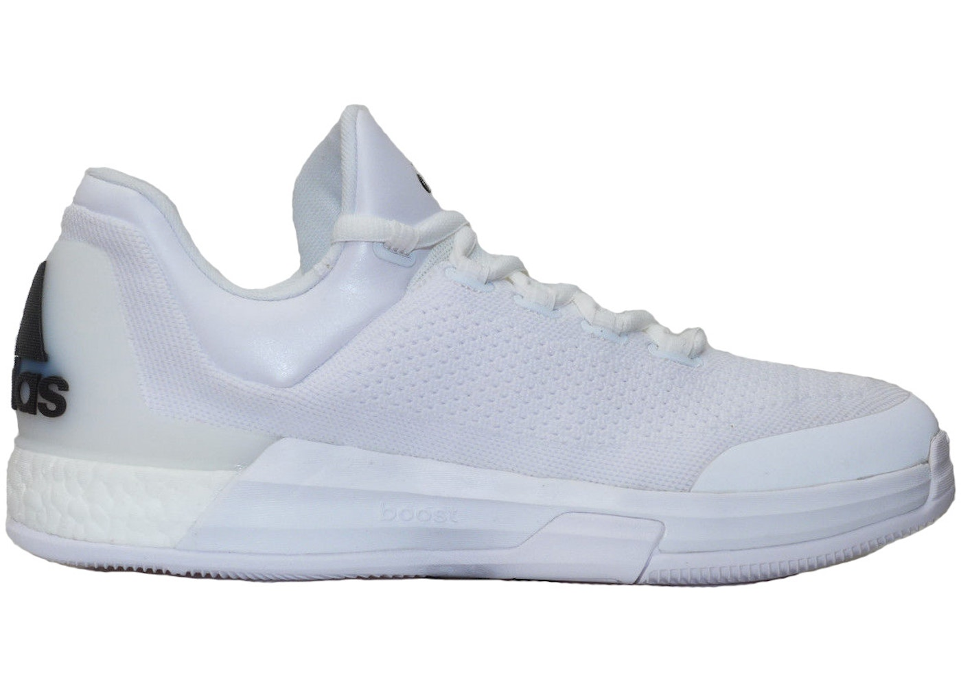 best sneakers 5898b 2718f adidas Crazylight Boost Triple White James Harden - AH1264