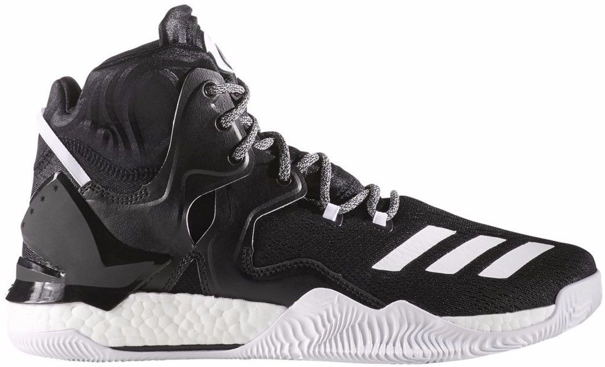 adidas D Rose 7 Black White