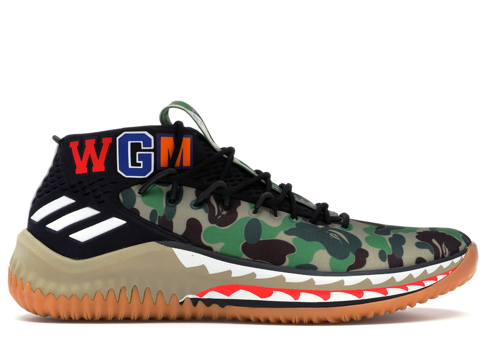 adidas Dame 4 A Bathing Ape Red