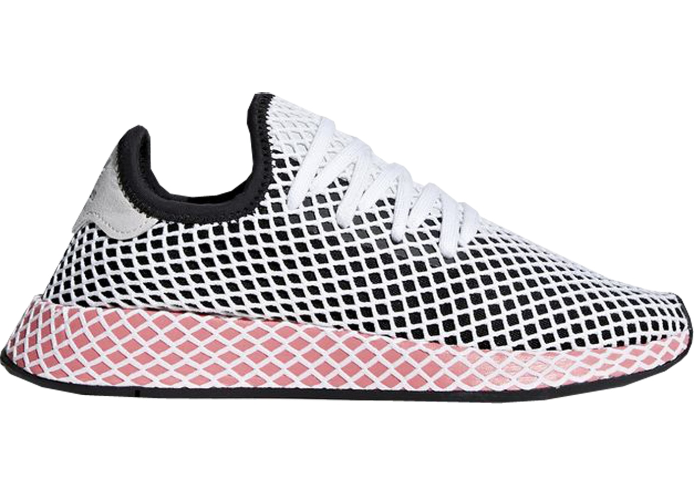 b62ba53b1 Sell. or Ask. Size  9.5W. View All Bids. adidas Deerupt Core Black Chalk  Pink ...