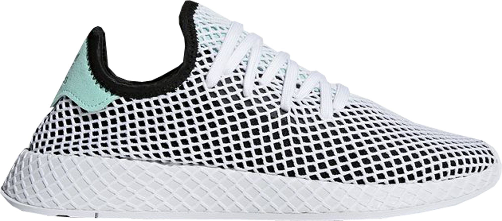 adidas Deerupt Core Black Easy Green