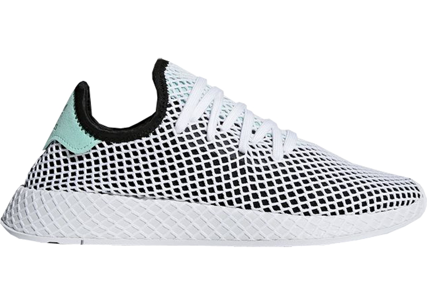 sports shoes f3b98 61497 Sell. or Ask. Size 14. View All Bids. adidas Deerupt Core Black Easy Green