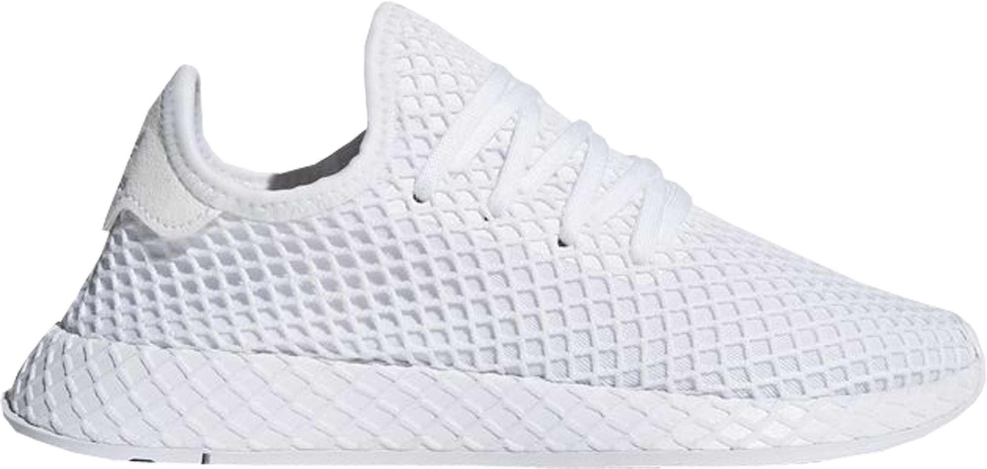 adidas Deerupt Triple White (GS)