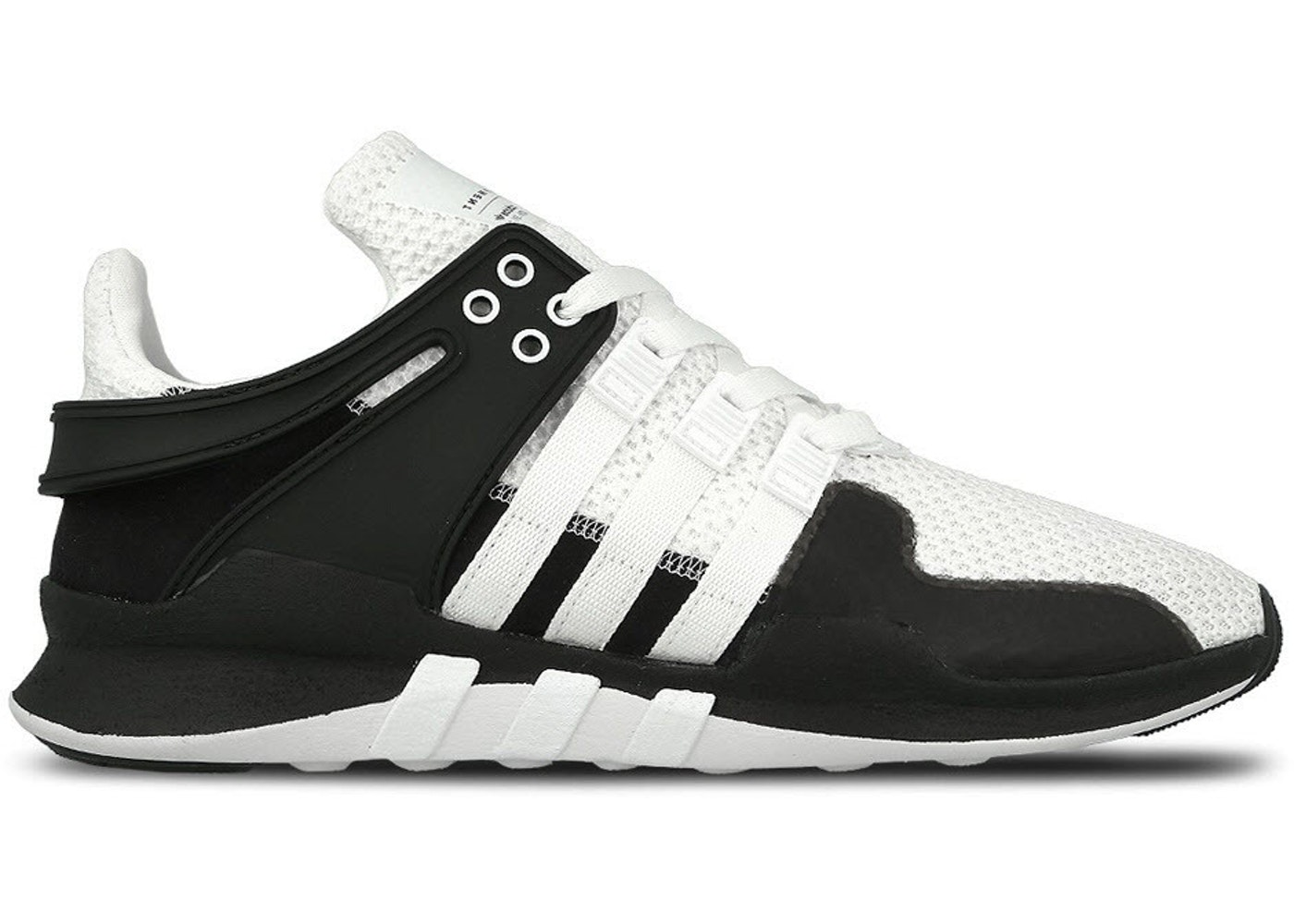 huge discount e5637 9578a This Triple White adidas EQT Running Support Primeknit Is To