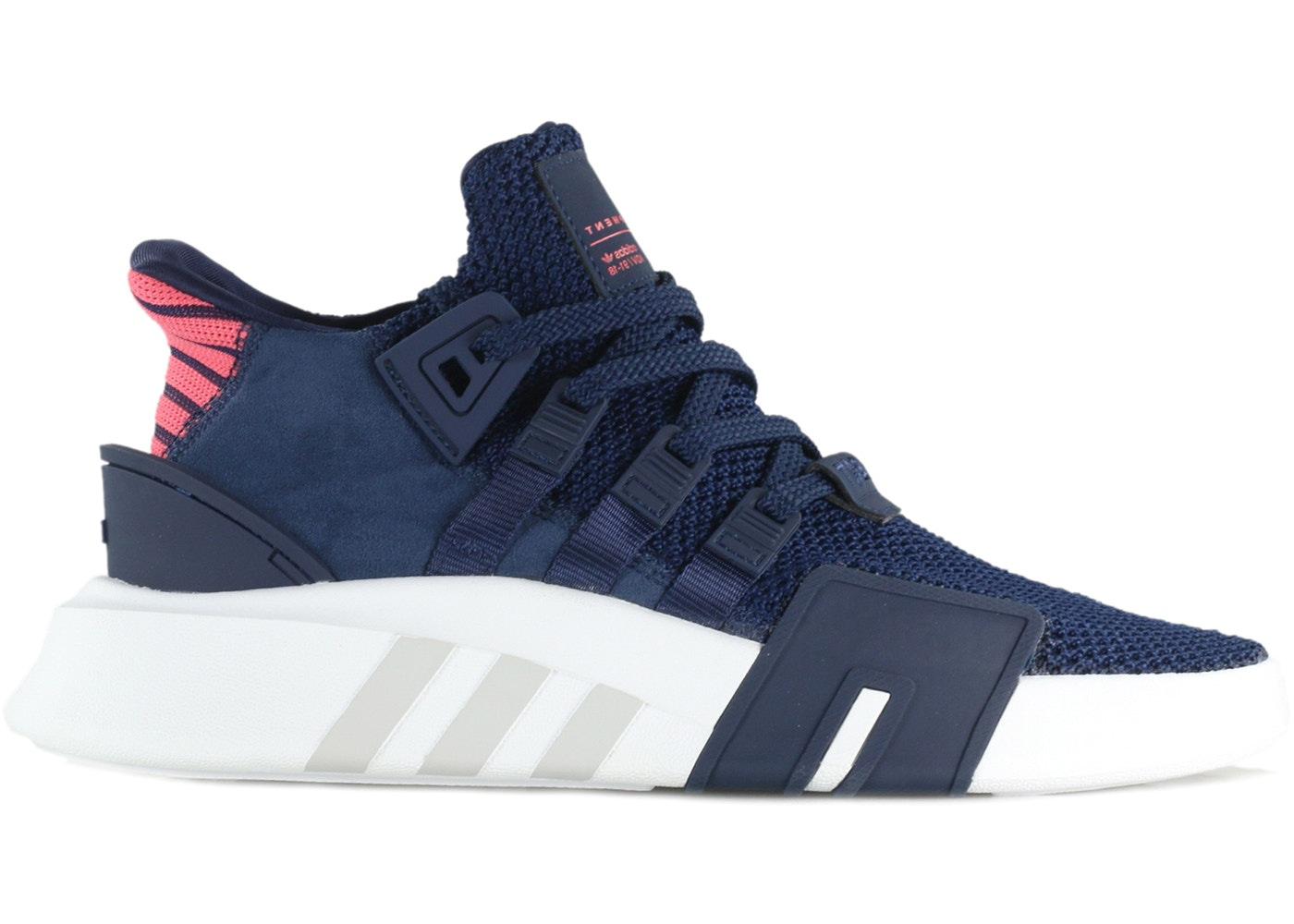 adidas EQT Basketball Adv Collegiate Navy Real Coral