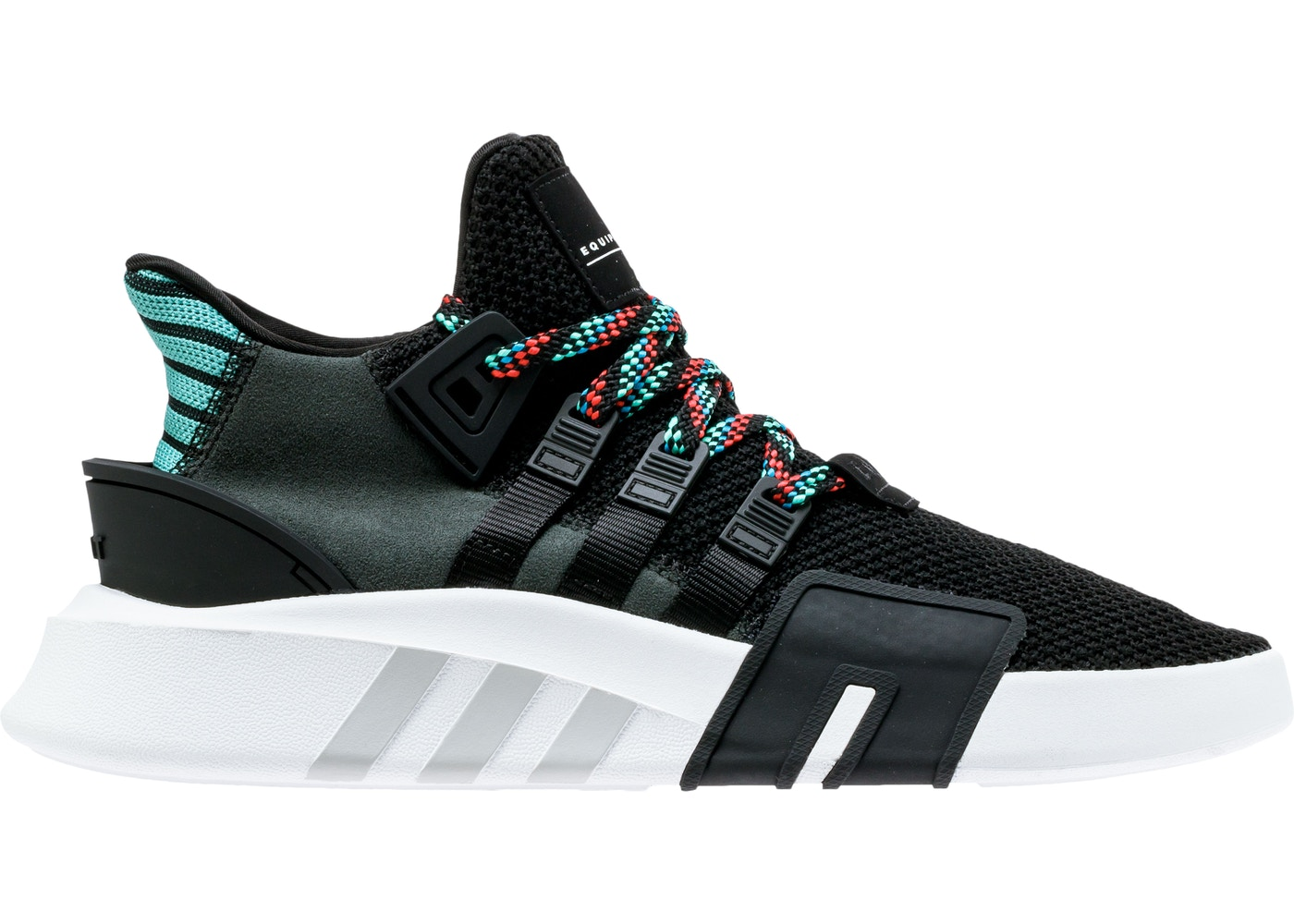 grandi affari 2017 più amato ufficiale adidas EQT Basketball Adv Core Black Sub Green