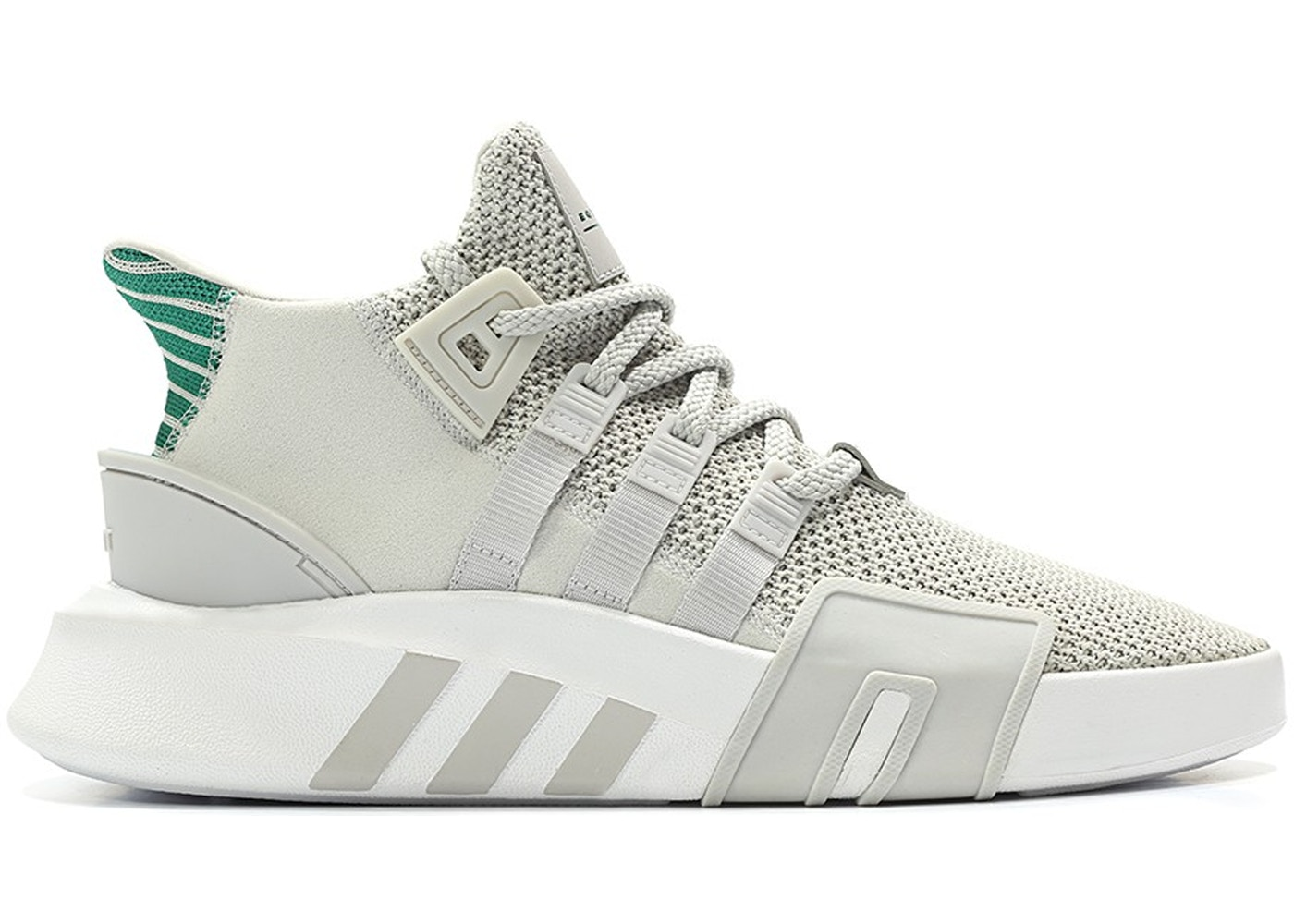 outlet store 25bba f81d4 adidas EQT Basketball Adv Grey One Sub Green