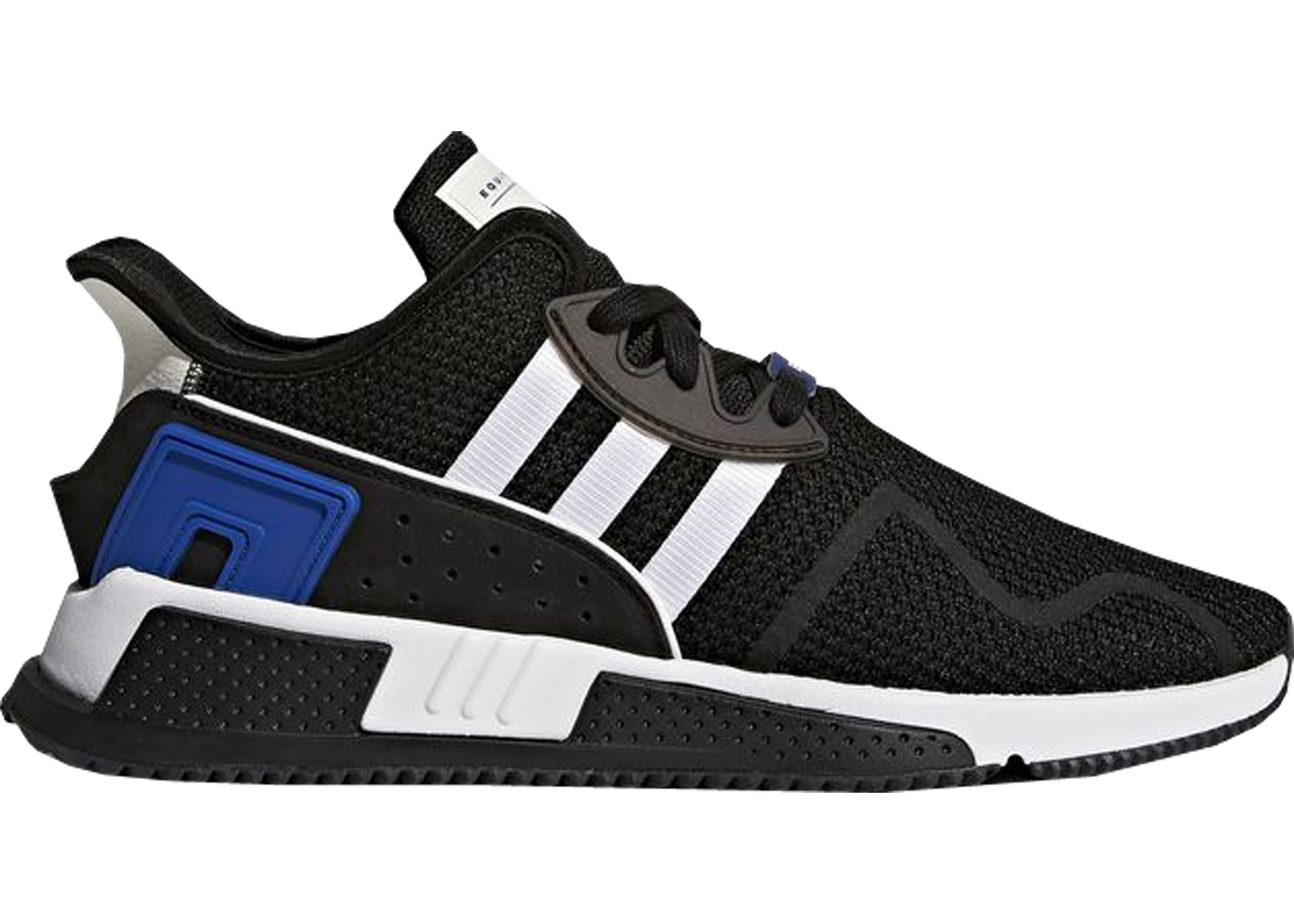 sports shoes 7942d 6cae2 adidas EQT Cushion Adv Black White Royal
