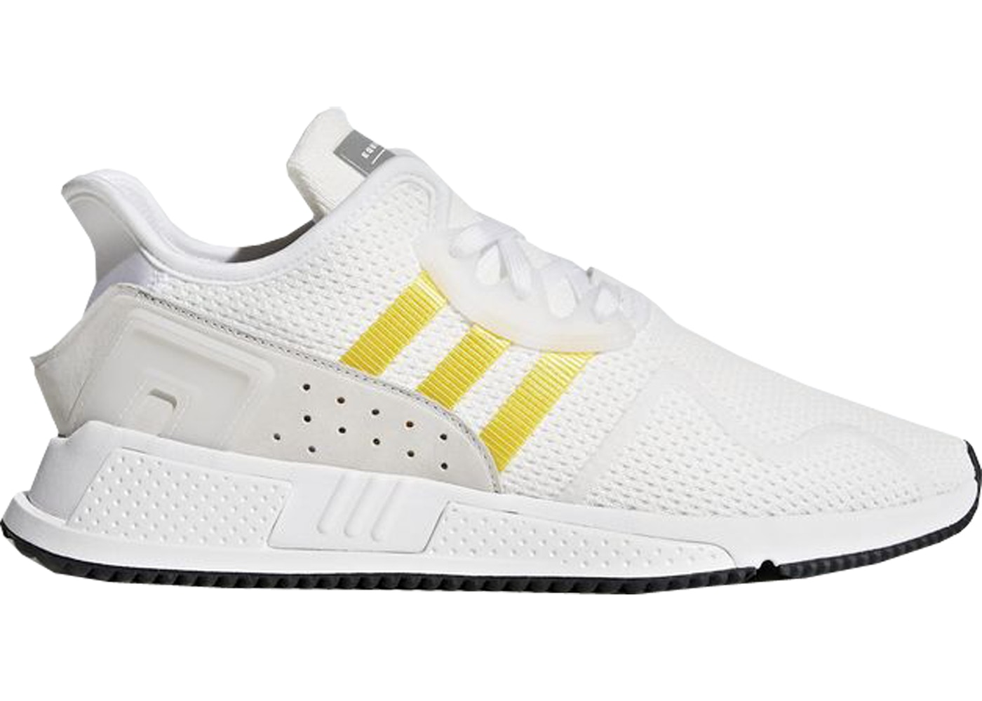 Sell. or Ask. Size --. View All Bids. adidas EQT Cushion Adv White  Equipment Yellow 2d9e98556