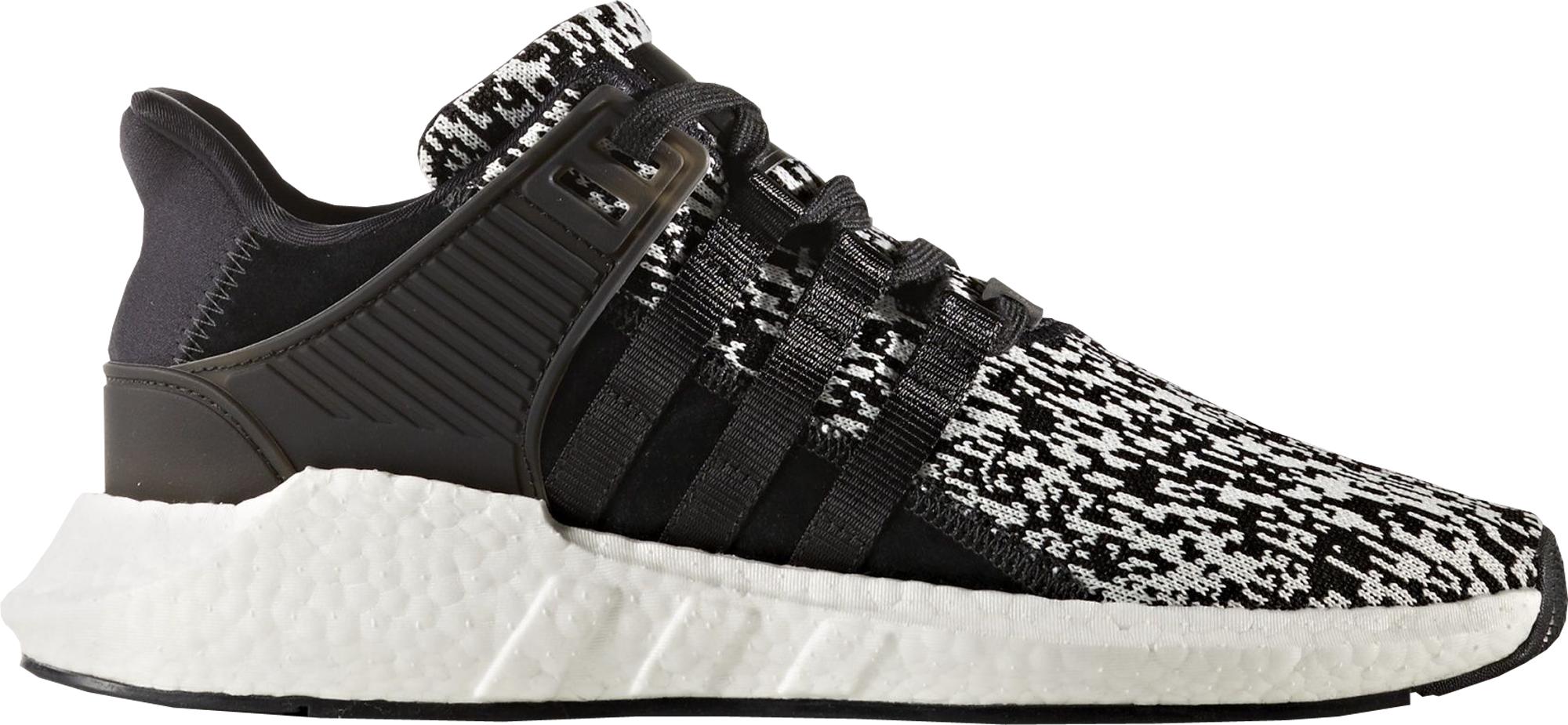 adidas EQT Support 93/17 Glitch Black White