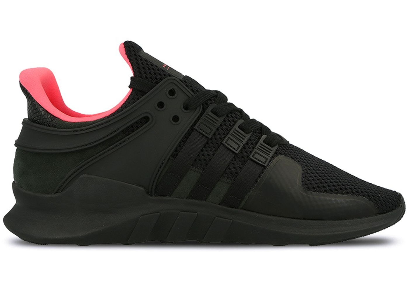 53cc9e61dc39 sneakers adidas men eqt support adv black core black turbo size 4.5 ...